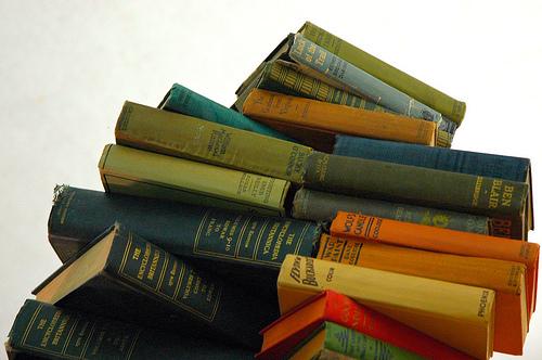 book coloured