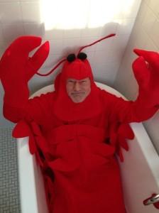 Patrick Stewart Lobster